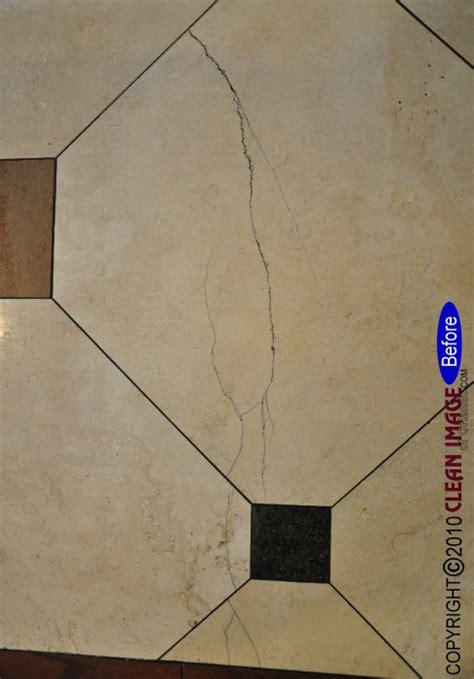 travertine tile repair
