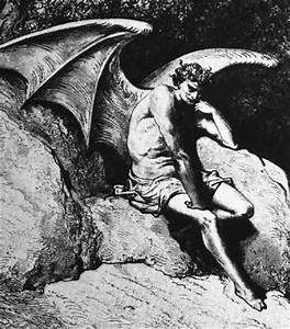 Demon Morality images Lucifer The Fallen (black n white ...