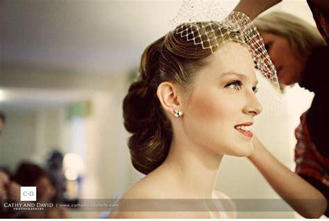 Vintage Glam Hair Hairdo Updo Fingerwave Curl Birdcage