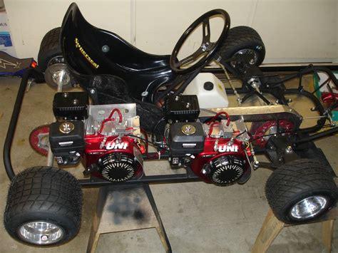 twin engine awd  kart  kart frame  kart racing