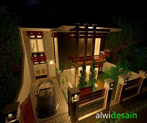 alwi  desain rumah  nuansa eropa
