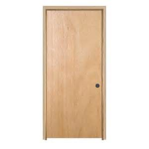 home depot pre hung interior doors jeld wen woodgrain flush unfinished hardwood single prehung interior door with trim 779839 the