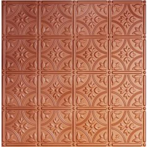 ceiling tiles home depot global specialty products dimensions 2 ft x 2 ft copper