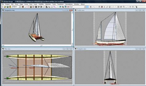 Catamaran Cad Design by Cad Systems Help 3d Boat Design Software