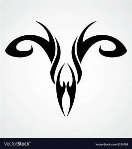Aries Symbol Royalty Free Vector Image - VectorStock