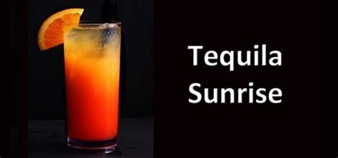 how to make tequila how to make a tequila sunrise cocktail drink 171 tequila