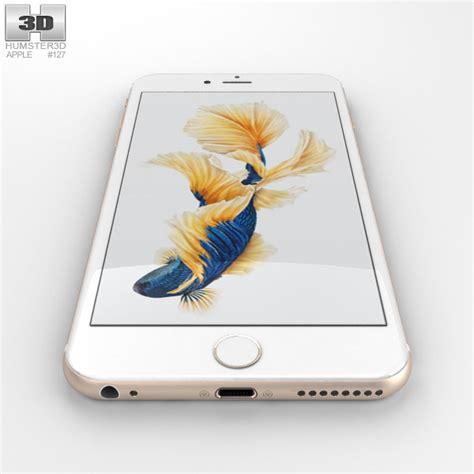 iphone 6s plus models apple iphone 6s plus gold 3d model hum3d