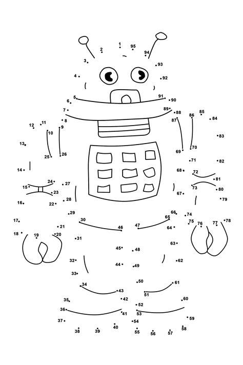 dot  dots worksheets  kindergarten activity shelter