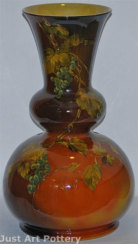 rookwood pottery  standard glaze floor vase