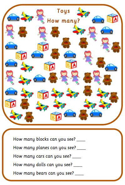 numbers   games  worksheets counting