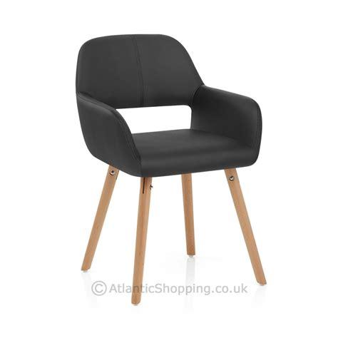 chaises cuir chaise cuir bois