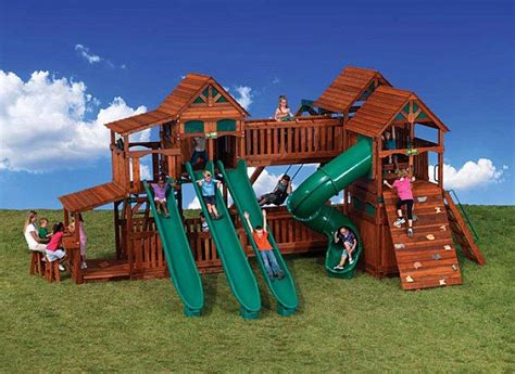 Backyard Play Set - 17 best images about backyard playsets on play