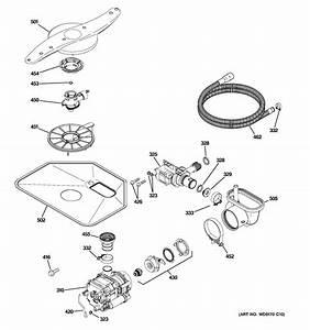 Ge Gld4500r10ww Dishwasher Parts