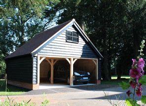 black cladding timber frame building property renovation