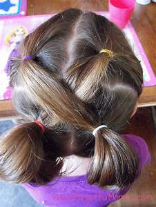 Back to School Hair for Little Girls Forgetful Momma