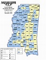Mississippi Prohibition: Mississippi Dry Counties ...