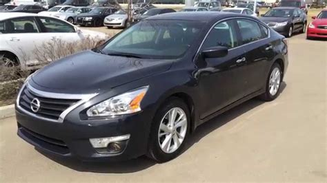 grey nissan altima pre owned gray 2014 nissan altima sv pure drive red deer