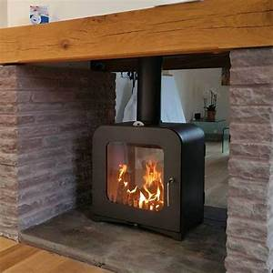 V12 Double Sided Woodburning Stove - Victorian Fireplace Store