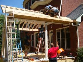 Diy Patio Cover Ideas by Covered Porch Charlotte Nc Porch Life Builders 704 791