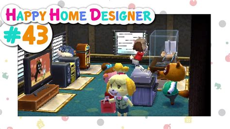 Animal Crossing Happy Home Designer  # 43  Department