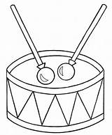 Drum Coloring Pages Children sketch template