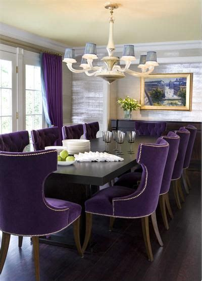 purple velvet dining room chairs home