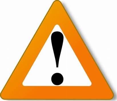 Warning Hazard Sign Clip Clipart Caution Signs