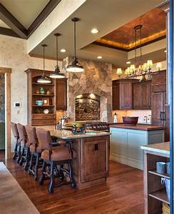 Fabulous, Rustic, Kitchen, Design, And, Decoration, Ideas, For