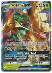 GX Pokemon Decidueye