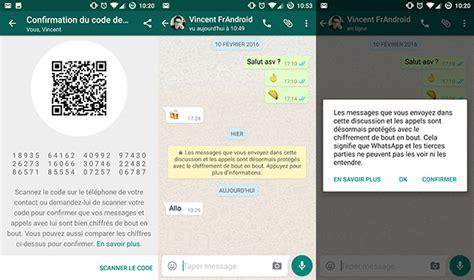 whatsapp passe au chiffrement total de bout en bout et