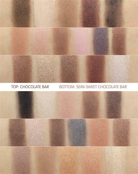 faced semi sweet chocolate bar eyeshadow palette