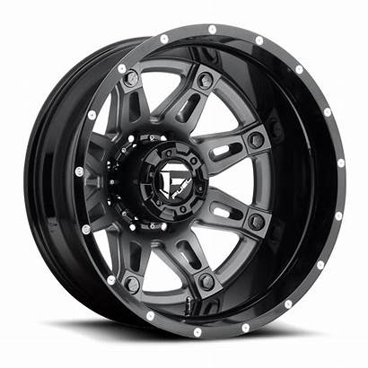 Dually Fuel Hostage Wheels 20x12 Offroad D232