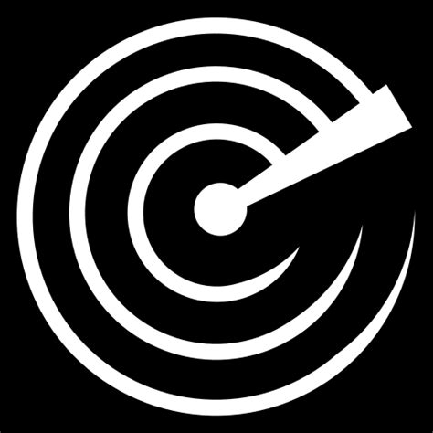 radar sweep icon game iconsnet