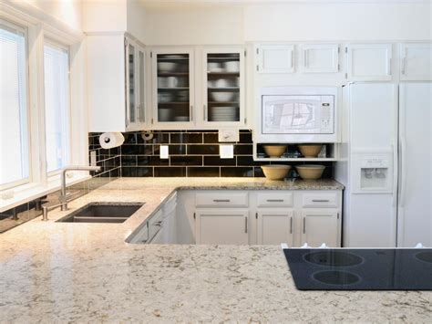 White Granite Kitchen Countertops Pictures & Ideas From