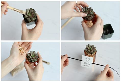 Creative Crafting The Prettiest Diy Succulent Wedding