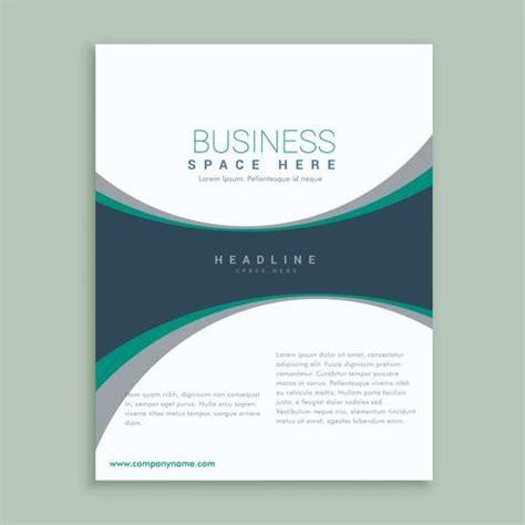 elegant magazine cover page  brochure design template
