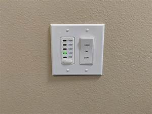 Attic Fan Timer With Plate
