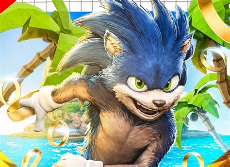 This Sonic The Hedgehog Fan-Made Movie Poster Looks ...