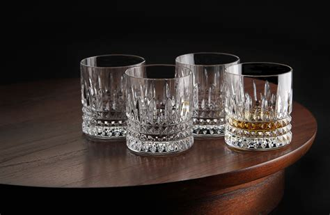 Whiskey Glas Kristall by Waterford Lismore Sided