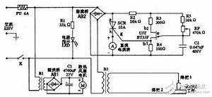 Spot Welder Control Board Circuit Diagram