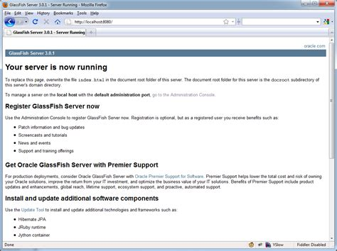 glassfish admin console raja pleci jsf 2 0 tutorial with eclipse and glassfish