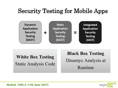 mobile security testing security testing in mobile applications