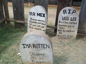Funny Halloween Tombstones Sayings halloween tombstones best images collections hd for