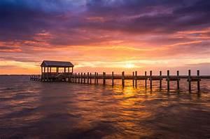 Outer Banks North Carolina Nags Head Sunset Nc Scenic