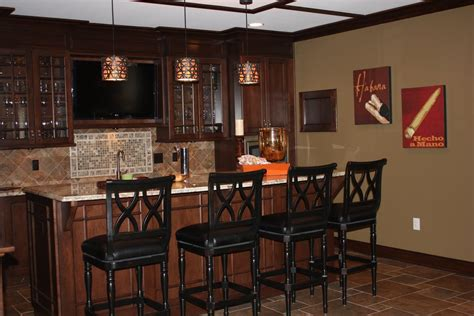 Custom Bar Design Ideas New House Designs Modern Interior Built Basement Luxury Cherry Wood Wet