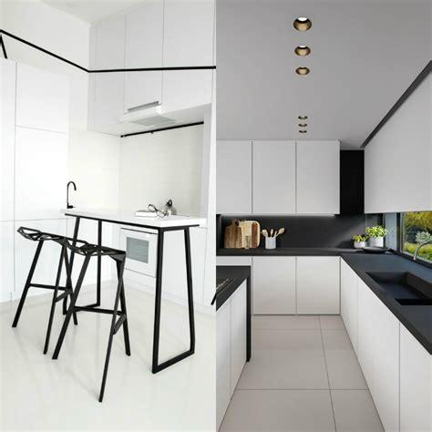 bar cuisine design cuisine blanche et élégance et design intemporels