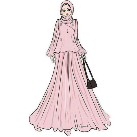 hijab cartoon images  pinterest fashion