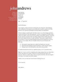 good cover letter sample    flourish