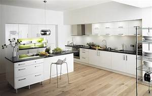 Simple, Contemporary, Kitchen, Design, Ideas, For, Your, Lovely, Family