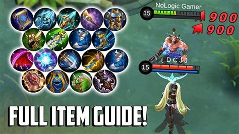 All New And Reworked Item Guide!